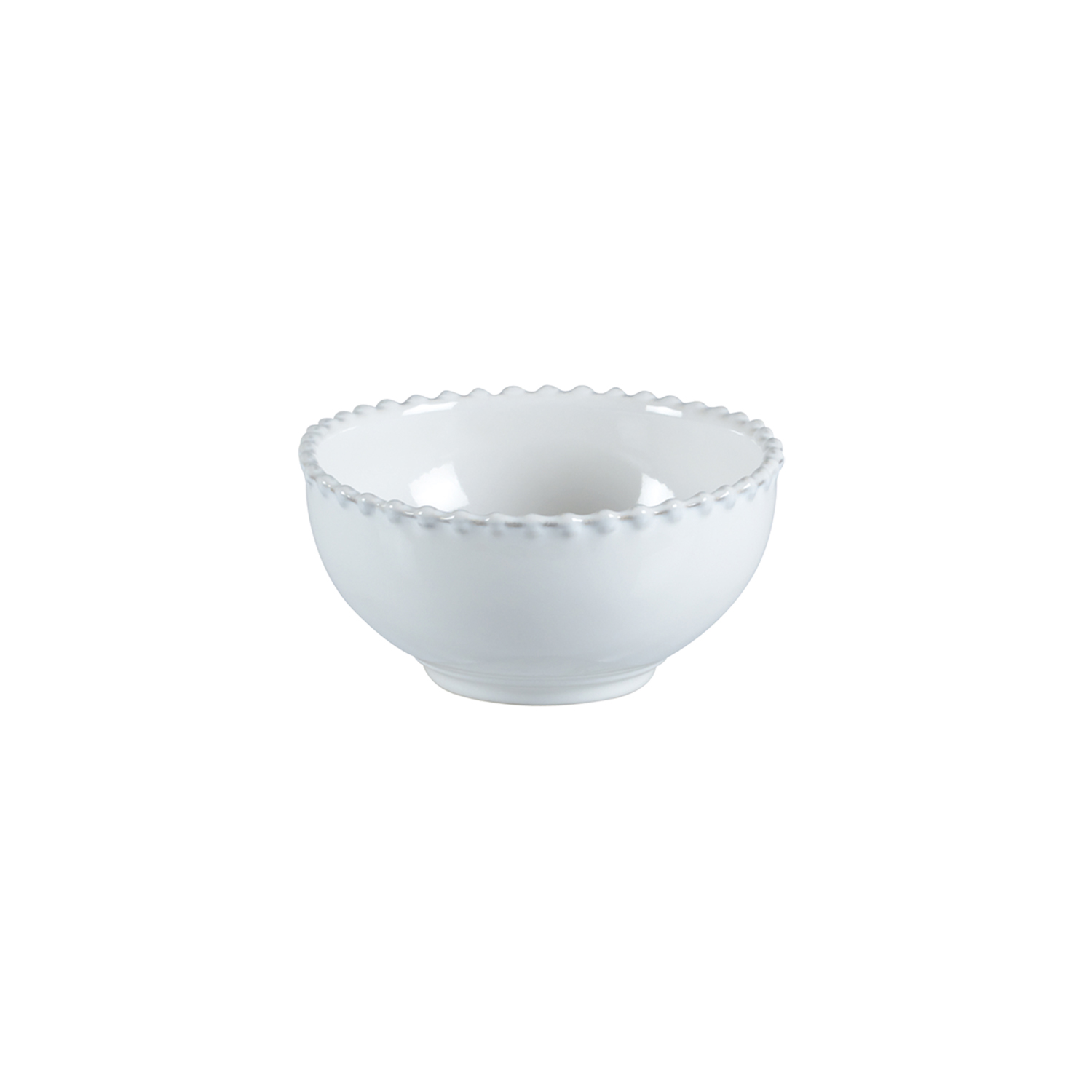 Pearl White Soup/cereal Bowl 16cm X6                         Music Gift