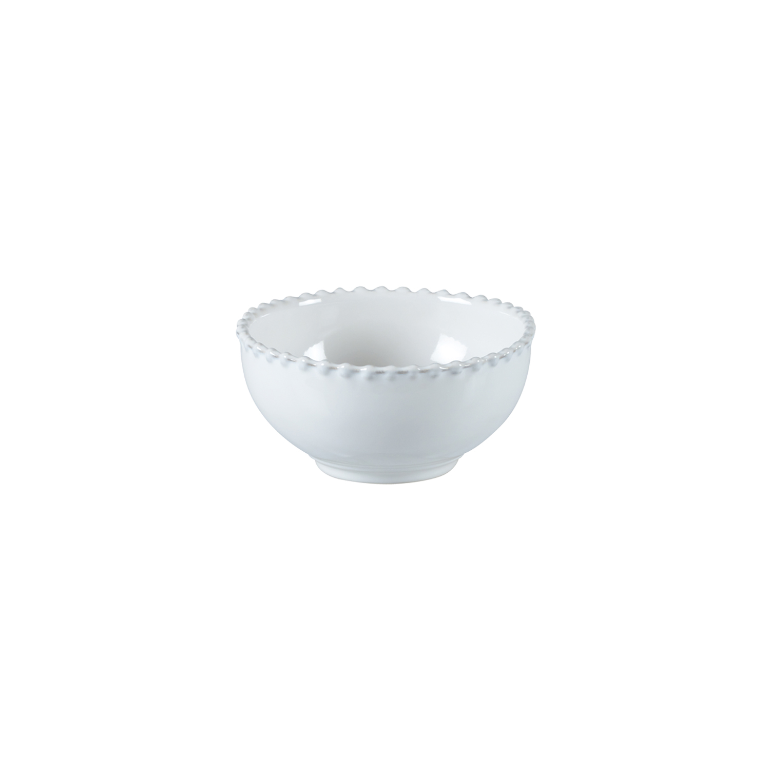 Pearl White Soup/cereal/fruit Bowl 13cm X6                   Music Gift