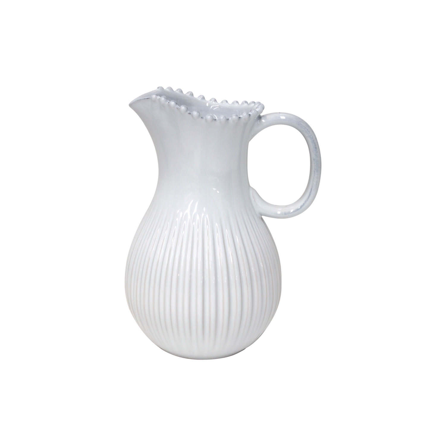 Pearl White Pitcher 2.58l X1                                 Music Gift