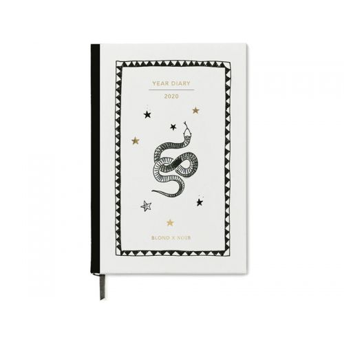 Blond X Noir: Yearround 2020 Diary A5 Gift